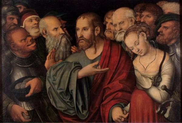 Христос и грешница